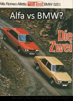 Alfa vs BMW