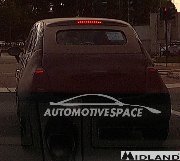 New Fiat 500 Cabrio Camouflage