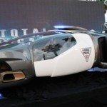 Police Car Sci-Fi