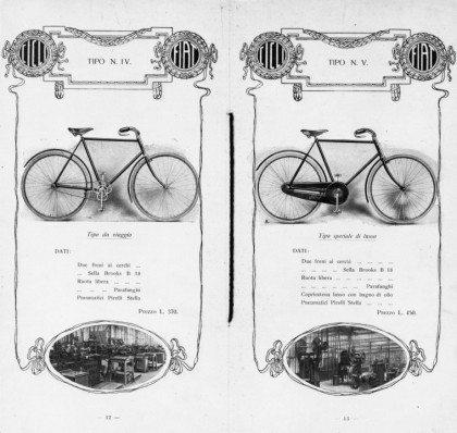 Catalogo biciclette Fiat