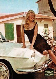 Brigitte Bardot Renault Floride